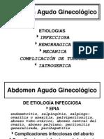 abdomen agudo ginecologico
