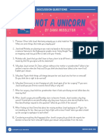 Not a Unicorn Discussion Guide