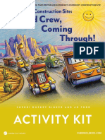 Construction Site Road Crew, Coming Through! Activity Kit