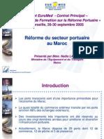 reforme portuaire ppt