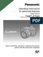 DMCFZ40-ADV Operating Manual