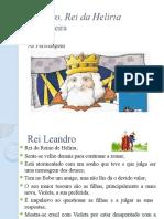 Leandro, Rei da Helíria - personagens