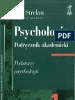 Strelau - Psychologia. Podrecznik Tom I