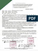 DECRETO 466/2011 DEL SUPREMO CONSEJO DE MEXICO