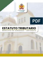 ESTATUTO TRIBUTARIO ZARAGOZA