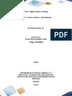 Tarea 2. Vectores,Matrices y Determinantes