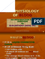 The Physiology of Blood