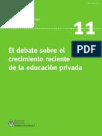 DINIECE_Crecimiento Educacion Privada Argentina