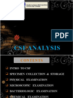 CSF ANALYSIS PRESENTATION 3