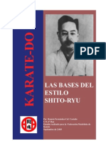 Artes Marciales - Karate - Bases de Shito Ryu