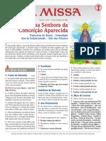 A Missa - Ano B - Nº 57 - Nossa Senhora Da Conceição Aparecida - 12.10.21