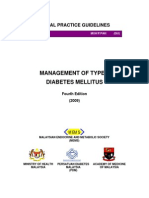 CPG on Mx of T2DM 2009