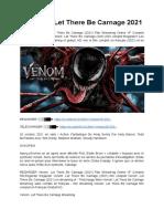 Vf VENOM 2 Let There Be Carnage 2021 Film complet Streaming VF Gratuit en Français