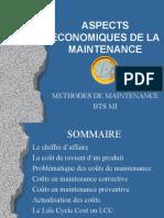20 - Aspects économiques de la maintenance