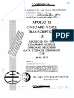 Apollo 13 Onboard Voice Transcription