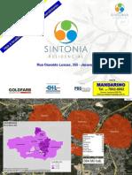 SINTONIA - JACAREPAGUÁ - APARTAMENTOS de 2 quartos - Mandarino - Tel. (21) 7602-8002