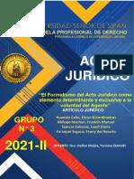 Acto Jurídico PA1
