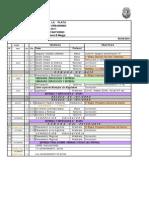 PF 2 - cronograma 2011