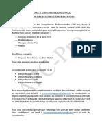 Recrutement APC-Pro