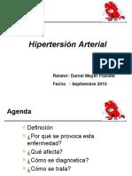 Presentación Hipertención Arterial