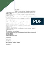 Sistemas Operativos Libres y Comerciales. Tarea 1
