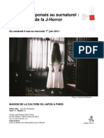 programme J horror