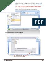 Pasos Word a PDF
