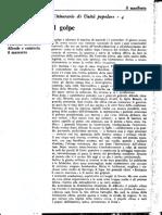 Separatas 3 (5868-71) L'Itinerario Di Unitá Popolare, 1-4 (en 'Il Manifesto', 1970-73)