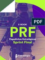 eBook PRF Pegadinhas Estrategicas Sprint Final
