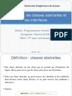 Chapitre 6 Les Classes Abstraites Et Les Interfaces