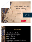 How Transmission Companies Make Money