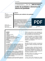 NBR ISO 9004-4 - Gestao Da Qualidade