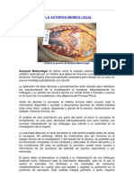 5. LA AUTOPSIA MEDICO LEGAL