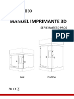 Manuel Raise3D Pro Series
