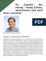Peters Uwe - ökologische Aspekte der Virusverbreitung