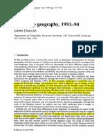 Landscape geography
