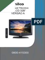Manual Técnico Philco TV LCD 32B PH32 B LCD3