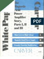 Carver Magnetic Field Whitepaper