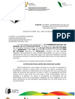 INFORME CONMEMORACION DEL DIA MUNDIAL DE LA ACTIVACION FISICA. 6 DE ABRIL. ESCUELA DOS DE OCTUBRE, TECOLUTLA, VER