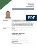 CV Deutsch aktualne
