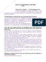 Distance 4fr. Correction Guide de lecture Istanbul
