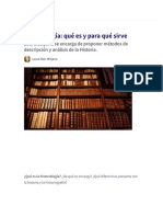 Historiología_ Qué Es y Para Qué Sirve