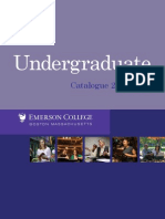 Undergraduate Catalogue 2010 2011