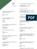 Test 16 PF Cuadernillo