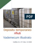 Vademecum illustrato depositi temporanei rifiuti Rev. 3.0 2020 Preview