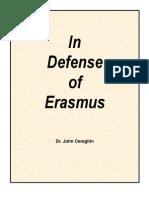In Defense of Erasmus