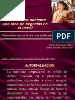 IDEA DE NEGOCIO EN EL PERU - Caso Renzo Costa