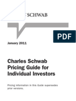 Schwab Pricing Guide