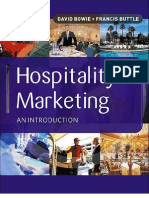 Hospitality Marketing - An Introduction