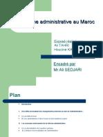 La réforme administrative au Maroc